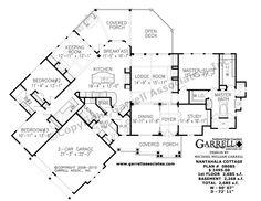 Nantahala Cottage House Plan 08085, 1st Floor Plan, Rustic Mountain House Plans