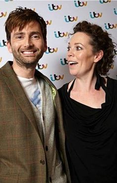 David Tennant and Olivia Colman--'Broadchurch' press photo Hot Scottish Men, Scottish Actors, David Tennant, Olivia Coleman, English Drama, John Mcdonald, Tv Series To Watch, Broadchurch, Great Tv Shows