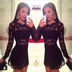 $33.00   Sexy stitching lace dress AZ910CJ