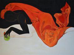 "Saatchi Online Artist Maria Buyalskaya; Painting, ""Firestarter"" #art"