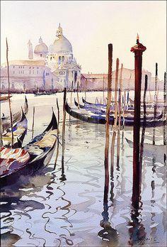 Trevor Waugh   Venetian Quietude   Detail   Rosenstiel's