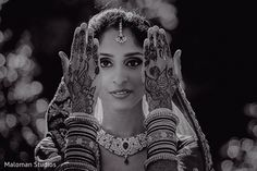 This Indian bride opts for beautiful mehndi her wedding day. Beautiful Mehndi, Mehndi Photo, Henna Mehndi, Mehndi Designs, Indian Jewelry, Wedding Day, Bride, Artists, Future