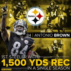 d166f0532f8 Antonio Brown is already an all-time great for The Pittsburgh Steelers. He  broke