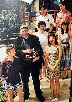 bobby fischer with the Polgar Family