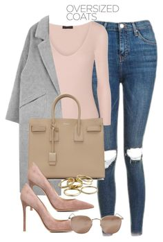 """""""Untitled #12117"""" by vany-alvarado ❤ liked on Polyvore featuring Topshop, ATM by Anthony Thomas Melillo, Yves Saint Laurent, Gianvito Rossi, Linda Farrow and Kendra Scott"""