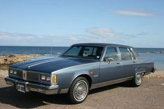 1983 Oldsmobile 98 Regency - another of my dad's company cars - our was green and a diesel - I took my driving test in this car and 45 minutes later put it in a ditch