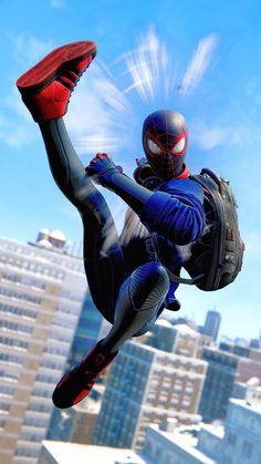 Spiderman Tattoo, Spiderman Pictures, Black Spiderman, Spiderman Art, Amazing Spiderman, Guy Pictures, Figura Iron Man, Spaider Man, Miles Morales Spiderman