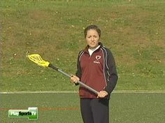 Girls' Lacrosse Basics: Cradle With Either Hand