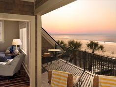 The perfect view after a day in one of the most popular destinations since the Hilton Head Island. Take in the sights from the Equity Estates home! Hilton Head South Carolina, Carolina Usa, Beach Haven, Hilton Head Island, Private Pool, Estate Homes, Vacation Destinations, Places Ive Been, Deck