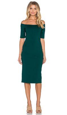Amanda Uprichard Electra Dress in Evergreen | REVOLVE