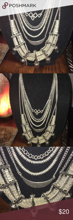 Lucky Brand Necklace Excellent Condition. Never worn. Perfect for layering with other necklaces Lucky Brand Accessories