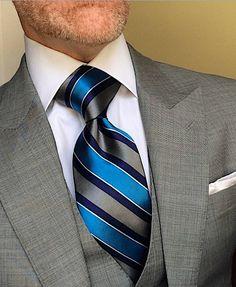 London York Executive Knot Ties Spring/Summer 2019 New Spring/Summer 2019 collection of London York Sharp Dressed Man, Well Dressed Men, Mens Fashion Suits, Mens Suits, Men Dress Up, Gentlemans Club, Elegant Man, Classy Men, Dress For Success