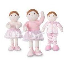 Darcey Dressing Up Ballerina Rag #Doll