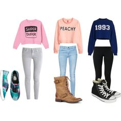 "I love the ""Super Duper"" outfit  ""Teen Outfit #55"" by kaelarabbit on Polyvore"