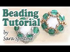 BeadsFriends: easy beading tutorial - DIY earring - DIY bracelets - YouTube
