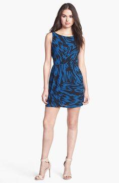 BB Dakota 'Nicki' Print Sheath Dress available at #Nordstrom Item #934915 ($78.00)