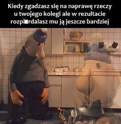 Funny Lyrics, Polish Memes, Weekend Humor, Black Wallpaper, Wtf Funny, Cos, Black Background Wallpaper