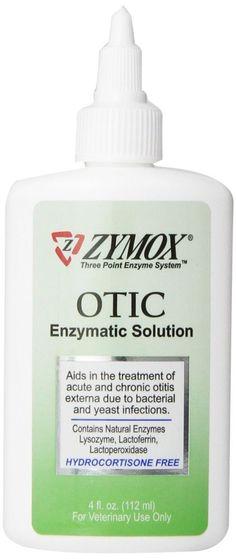 Pet King Zymox Otic Pet Ear Treatment HC FREE Dog Cat Bacterial Yeast Infection