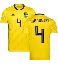Schweden Andreas Granqvist 4 Heimtrikot WM 2018 Herren Andreas, Sports, Tops, Fashion, World Cup, Sweden, Football Soccer, Hs Sports, Moda