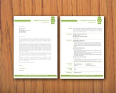 Modern Microsoft Word Resume (1 and 2 pages) and cover letter Templates - Liliana Pardomuan 02, Microsoft Word Resume Templates