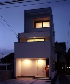 シンプル住宅・間取り(兵庫県西宮市)|狭小住宅・コンパクトハウス | 注文住宅なら建築設計事務所 フリーダムアーキテクツデザイン