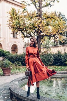 30+ Best Orange Dress Ideas You Will Totally Love