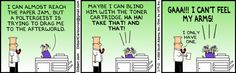 Dilbert's Copier and the Poltergeist saga continues...