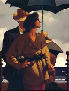 Right Time, Right Place - Jack Vettriano