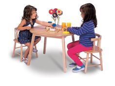 Bentwood-Back Kid's Desk Chair