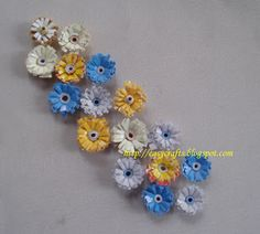 Paper Quilling | Paper Quilling...Simple Flowers