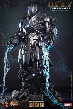 Hot Toys Iron Man 2 Whiplash Diecast 3