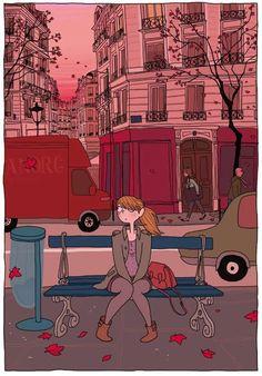 Auf der Suche nach der eigenen Identität  ...aus Wie ein leeres Blatt von Boulet und Pénélope Bagieu