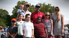 Thanks to two generous heart donors, #PGA golfer, Erik Compton, gets to live his #dream. And now, he's paying it forward by helping other transplant recipients, donors, and their families get to live their dreams, too! #donatelife #inspiration