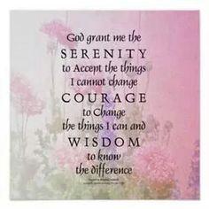 God grant me..