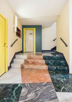 There's a new book out on a favorite subject of ours — the Entryways of Milan, including this gem by Gio Ponti, Antonio Fornaroli, and Alberto Rosselli 📷 Italian Interior Design, Interior Design Minimalist, Interior And Exterior, Interior Doors, Rustic Exterior, Interior Designing, Diy Interior, Interior Modern, Scandinavian Interior