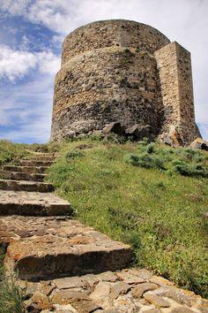 San Giovanni di Sinis e la torre di San Giovanni, Sardegna