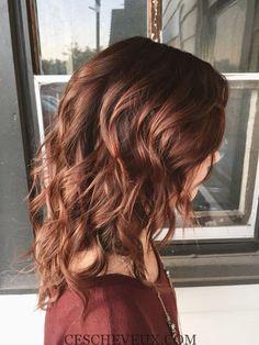 effort auburn cheveux - Dcoloration Cheveux Colors