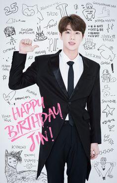 HAPPY BIRTHDAY JIN