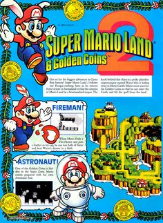 Super Mario Land 2 - Game Boy