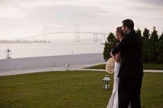 Belle Mer Wedding | Belle Mer Wedding Photography | Newport RI Wedding Photography | Photography by Berit Bizjak of Image by Berit | Bride and Groom