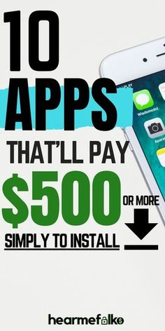 Make money fast: Install these Apps that pay you money for doing nothing.Save money and earn money with these extra cash apps. Make money fast: Install these Apps that pay you money for doing nothing.Save money and earn money with these extra cash apps. Ways To Earn Money, Earn Money From Home, Make Money Fast, Way To Make Money, Earn Money Online Fast, Best Money Making Apps, Money Saving Tips, Saving Ideas, Managing Money