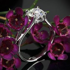 Katie Solitaire Engagement Ring with a 1.318ct A CUT ABOVE®