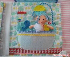 Quiet Book: shower page..... And many more for fun inspiration