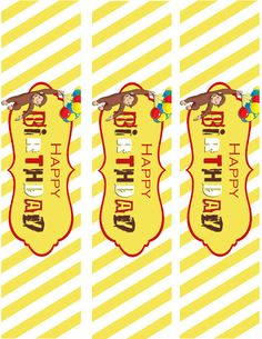 Mrs. This and That: Curious George Birthday party
