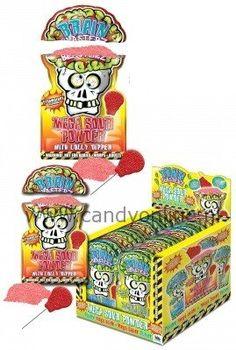 Brain Blasterz Sour Powder + Lolly-Online snoepwinkel