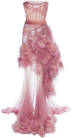 #affiliatead -- Marchesa Ombre Tiered Gown -- #Chic Only #Glamour Always