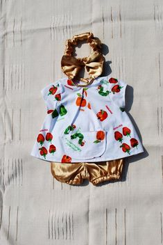 Items similar to The very hungry caterpillar dress, cotton baby dress, outfit with satin bow bloomers dress with pocket for party, kids clothes, back closing on Etsy Very Hungry Caterpillar, Whimsical Art, Cool Items, Baby Dress, Etsy Handmade, Handmade Gifts, Bow, Satin, Etsy Shop