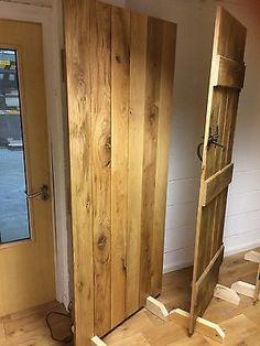 Tavern Grade Solid Oak Internal Ledged Door - Cottage Door