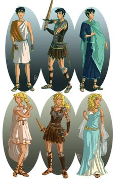 Ancient Greece by juliajm15 on deviantART. Ah yes, here they be. So it is the famous Big Seven and friends after all.