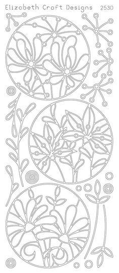 Elizabeth Craft Designs PeelOff Sticker 2530B Flower by PNWCrafts, $1.99